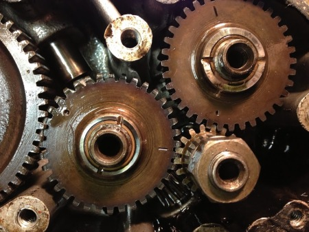 BSA B31 timing gears